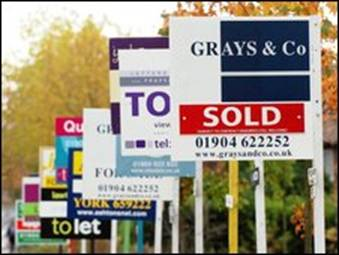 House sale signs